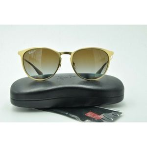 Ray Ban RB 3539 Sunglasses 112/T5 Round Metal 54mm